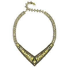 Chloe and Isabel-Stone Embellished Collar Necklace