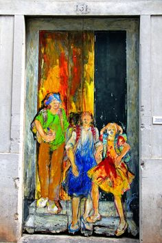 The painted doors of Old Funchal, Madeira (5) by David Warburton via Flickr.com