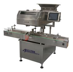 Accutek Packaging's bottle filling machines are build for food, chemical, beverage, cosmetic and pharmaceutical and bottled water industries. Check out the website and find out a machine that suits your industry.