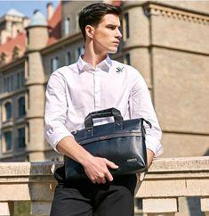 Briefcase Leather Laptop Bag – uShopnow store