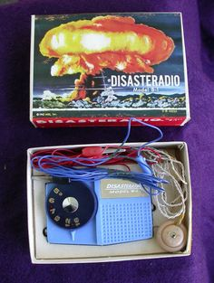 1960's Fallout shelter disaster radio.