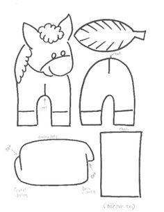 Donkey craft / Ezel knutselen