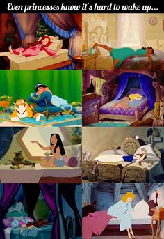 Even princesses know it… (Disney)