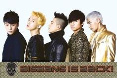 """BIG Bang """"Is Back - Group in a Row"""" Korean Boy Band, K-pop Music, Poster- Rare New - Image Print Photo New Poster Poster size 24""""x35""""inches.(approx) Colorful Poster Clear Image Ships quickly and safely"""
