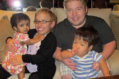 First family photo: The Klein Family.