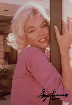 Barris arrived in L.A just in time for Monroe's 36th birthday on June 1.