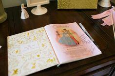 Cinderella Guest Book
