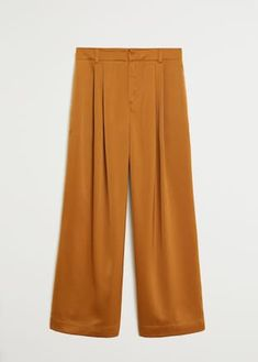 Palazzo Pants, Mango, Pants For Women, Satin, Fashion, Manga, Moda, Fashion Styles