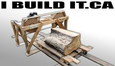 More about this here: http://www.ibuildit.ca/Workshop%20Projects/band-saw-mill.html This video is made up of 6 individual videos that I covered in a bit more...