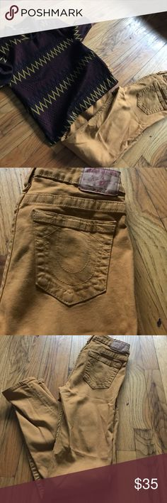 True religion jeans True religion jeans mustard stretch True Religion Jeans Skinny