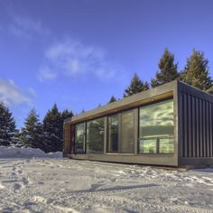 Today's shipping container home is sure to make your jaw drop. If not from the stunning, modern features then possibly from the impressive price tag. Made..