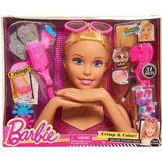 2013 Video Review For Barbie Color and Crimp Styling Head