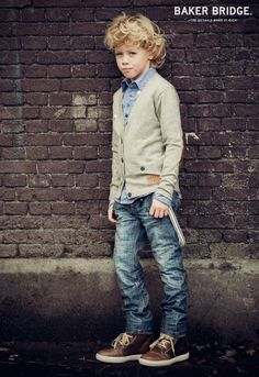 Boy with a style
