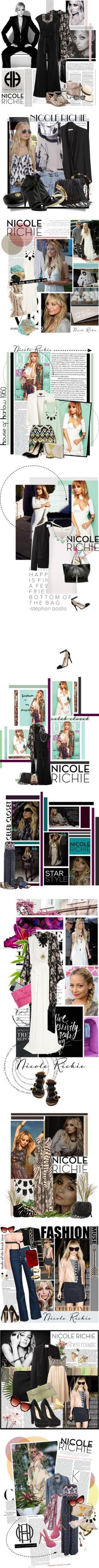 """""""Celebrity Closet: Nicole Richie"""" by polyvore-editorial ❤ liked on Polyvore"""