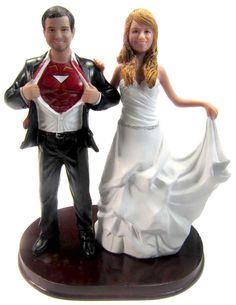 BobbleGram Inc. - Iron Man Wedding Cake Topper w/Interchangeable Bride, $184.99 (http://www.bobblegr.am/iron-man-wedding-cake-topper-w-interchangeable-bride/)
