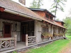 Grant Camp Uncas, Raquette Lake, New York - Travel Photos by Galen R Frysinger, Sheboygan, Wisconsin