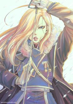 Ice queen of Fort Briggs Olivier Armstrong (◡‿◡✿)