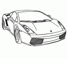 Today, i advise Lamborghini Cars Coloring Pages to Print For you, This Post is Similar With Awesome Race Cars Coloring Pages.