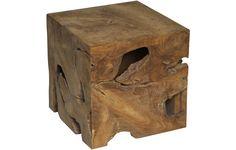 """Dimensions: 16"""" X 16"""" X 16""""H Wood type: Teak Please allow 2-3 weeks"""