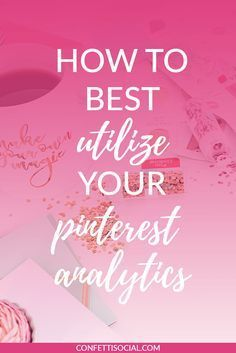 Your Pinterest Analytics can be a helpful tool in finding out what your audience wants to see from you. Find out how to best utilize your Pinterest Analytics on Confetti Social.