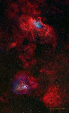 The Eagle and the Swan Nebula ' : Google +