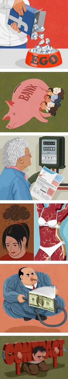 Illustrations With Deep Meaning Behind Them