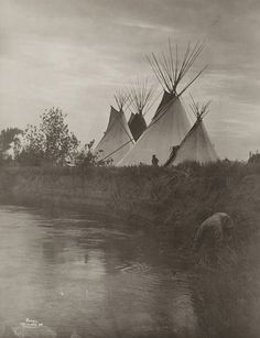 Lodges of the Chiefs | Artist: Richard Throssel Artist Bio:… | Flickr