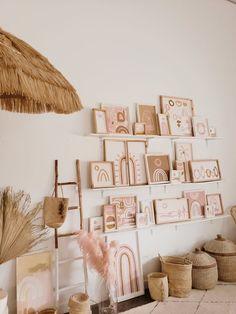 Welcome to these boho happy spaces! Do It Yourself Inspiration, Room Inspiration, Bedroom Decor, Wall Decor, Bedroom Ideas, Woodland Nursery Decor, Girl Room, Boho Decor, Boho Chic