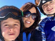 Ski slope selfie! #l
