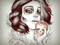 Snow White Skull