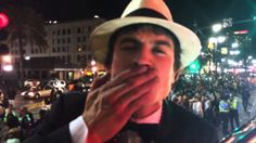 Straight from Mardi Gras in New Orleans! Ian Somerhalder has a special message just for YOU!