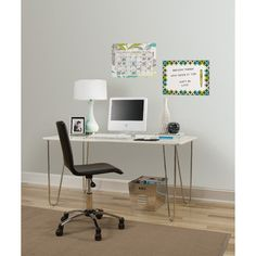 Brewster Home Fashions WallPops Dry-Erase Habitat Wall Decal Set