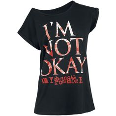 I'm Not Okay - T-Shirt by My Chemical Romance