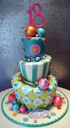 Not exactly for me, but I like the tipsy turvy-ness of the cake                                                                                                                                                     Mehr