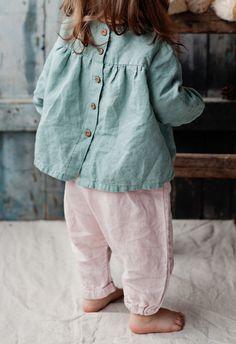 Handmade Linen Blouse | Lapetitealice on Etsy