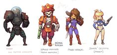 Metroid characters