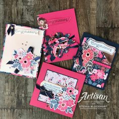 Everything is Rosy Product Medley by Stampin' Up! Limited Release available May 1 - 31 or While Supplies Last. What Is A Product, Everything's Rosie, Gold Foil Paper, Mothers Day Cards, Card Envelopes, Scrapbook Pages, Scrapbooking, Color Card, Flower Cards
