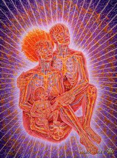 The official website of visionary artist Alex Grey. Psychedelic Art, Alex Grey Paintings, Alex Gray Art, Art Visionnaire, Nova Era, Psy Art, Process Art, Visionary Art, Spirituality