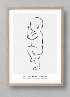 Marker No 01 - Fødselsplakat.no - 1
