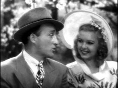 """Bing Crosby sings Irving Berlin's """"Easter Parade"""" for Marjorie Reynolds on a horse-drawn carriage ride in Holiday Inn (1942)."""