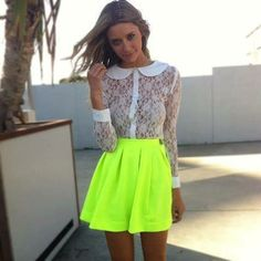 love lace with neon