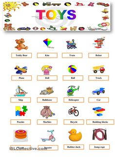 A worksheet about toys.It includes many activities such as true-false activity,gap filling and questions.I think you will teach toys easily with this worksheet. English Grammar Worksheets, Vocabulary Worksheets, Worksheets For Kids, Printable Worksheets, English Vocabulary, Addition Worksheets, Kindergarten Literacy, Preschool Math, Kindergarten Addition