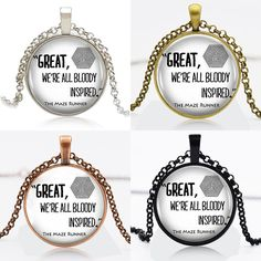 Find More Pendant Necklaces Information about 10pcs the maze runner logo Round Pendant Women Choker Statement Necklace For christmas gift 90869,High Quality necklace image,China choker necklace gold Suppliers, Cheap necklace 17 from DreamFire Store on Aliexpress.com