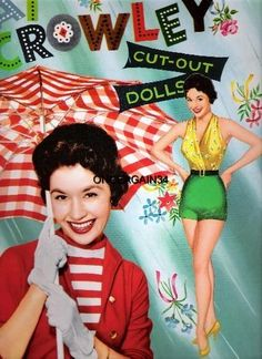 1955 Pat Crowley paper doll / eBay