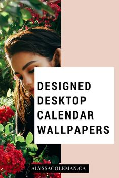 2018 Desktop Calendar's: Because shouldn't your desktop be as charming as you?