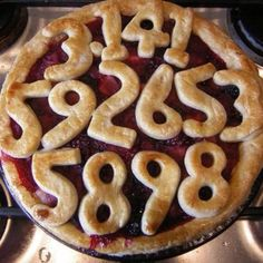Best Pi Day Pie - featuring all of the 3.14 numbers!