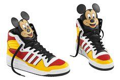 TOP* adidas Originals Jeremy Scott Pudel Sneaker für 37,94