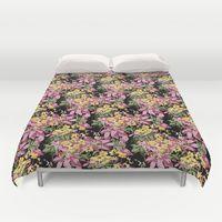 Duvet Cover featuring Blossom Pattern by Eduardo Doreni