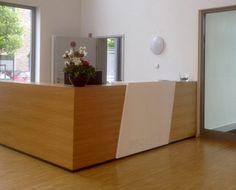 Empfangstheke by kühnle'waiko #office #furniture #workspace #interior #design