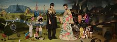 artist ignasi monreal transforms classic artworks in gucci capsule collection